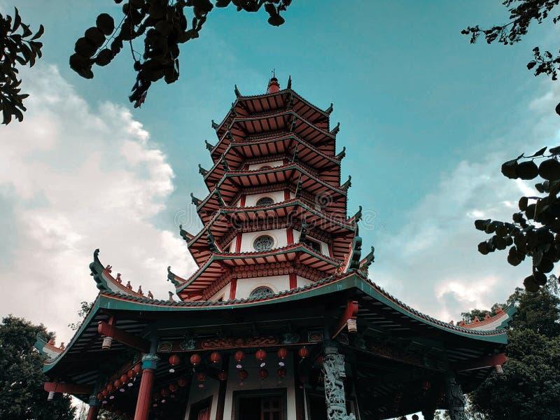Semarang Tample lizenzfreie stockfotos