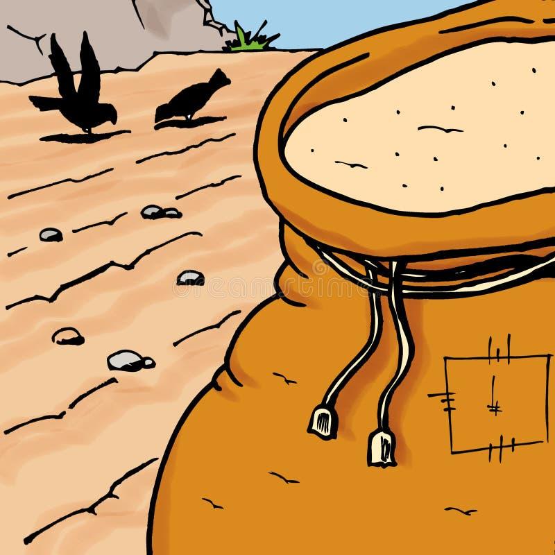 Sembrador libre illustration