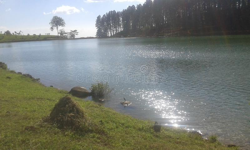 Sembuwatha湖 免版税图库摄影