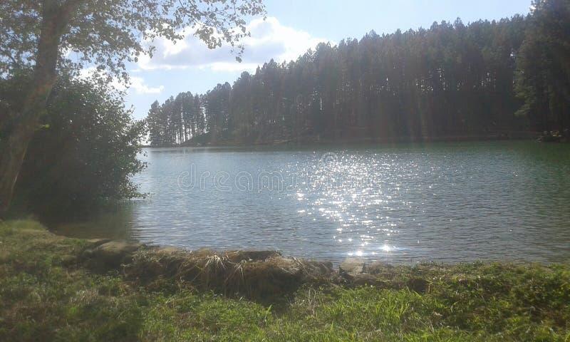 Sembuwatha湖 库存照片