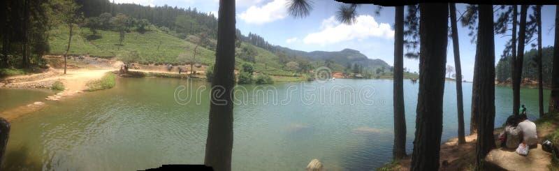 Sembuwatte湖mathale在斯里兰卡 库存照片