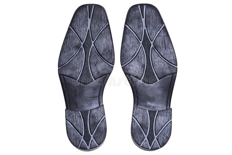 Semelle de la chaussure des hommes photos libres de droits