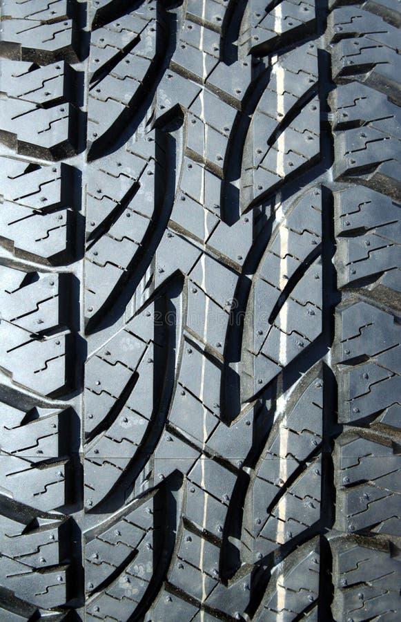 Semelle de pneu de l'hiver photo libre de droits