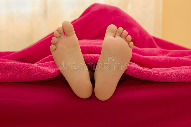 Semelles des pieds images libres de droits