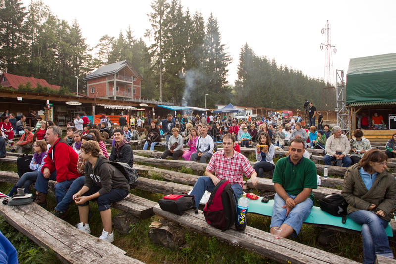 Semenic Fest 2011年 库存照片