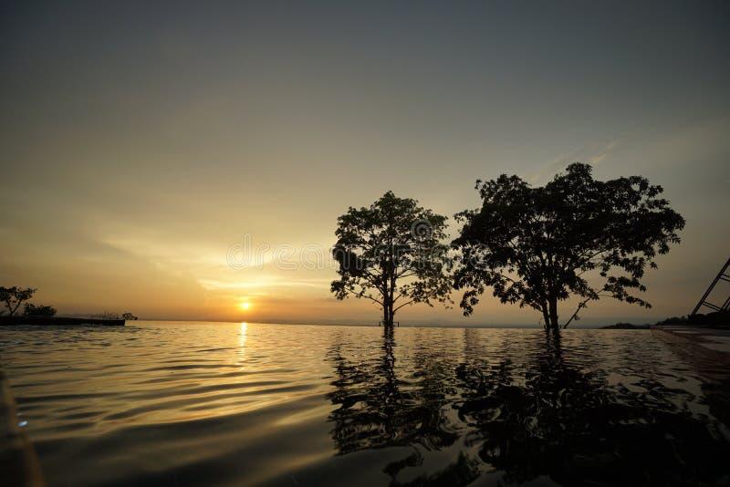 Semester för vattenpöl fotografering för bildbyråer