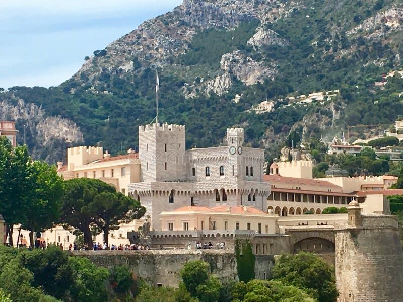 Semester i Monaco arkivbild