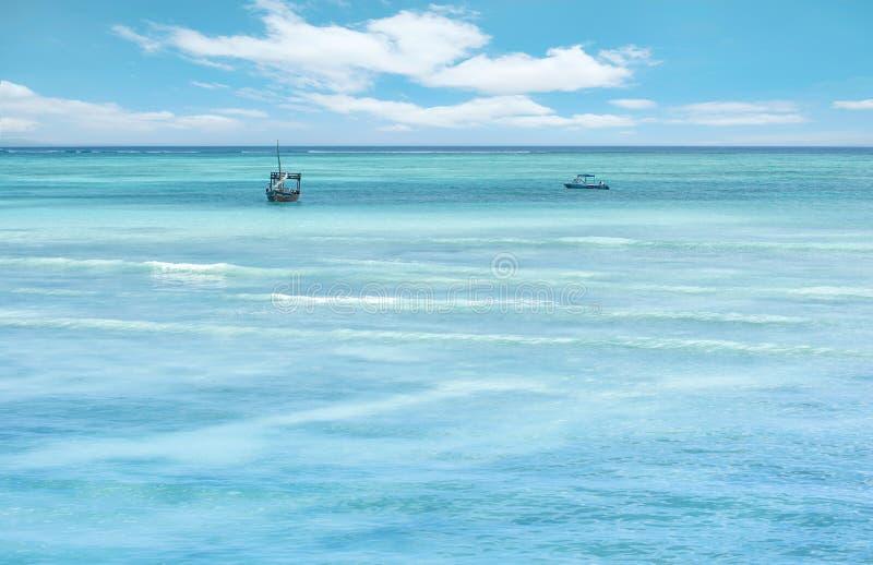 Semester på Zanzibar fotografering för bildbyråer