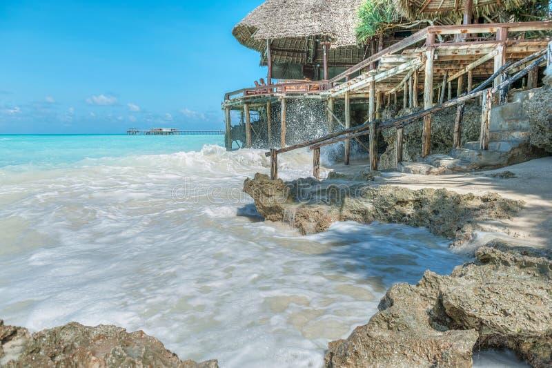 Semester på Zanzibar arkivfoton
