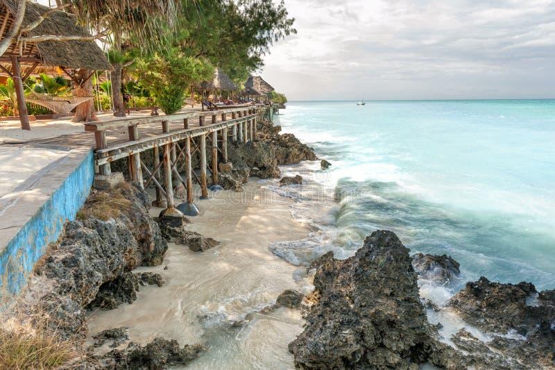 Semester på Zanzibar royaltyfria foton