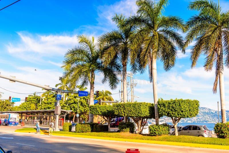 Semesterort av Acapulco, Mexico arkivbild