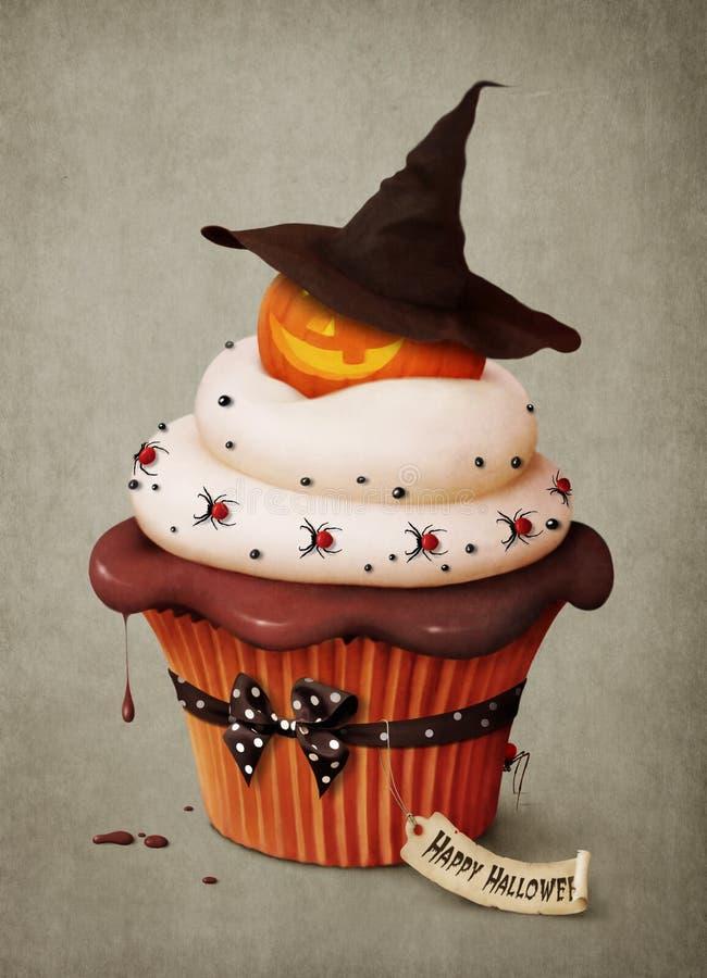 semestrar muffinen stock illustrationer