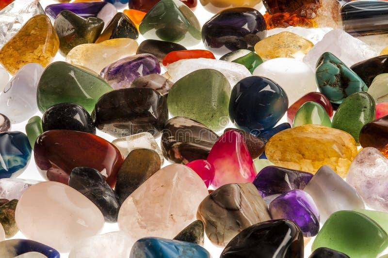 Semi драгоценные камни самоцвета стоковое изображение