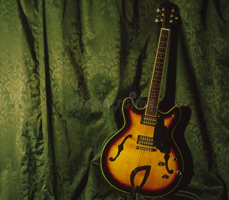 Download Semi Accoustic Guitar Royalty Free Stock Image - Image: 182256