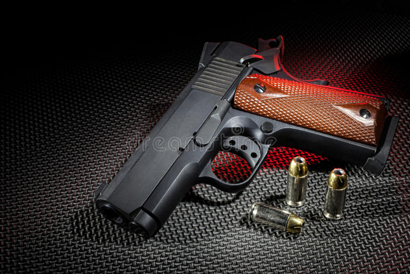 Semi automatyczny pistolecik obrazy stock