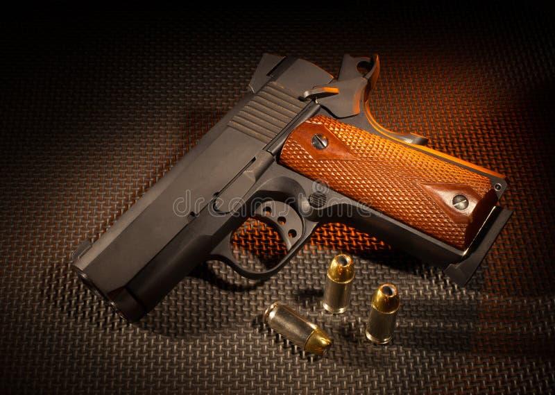 Semi automatyczny pistolecik zdjęcie stock