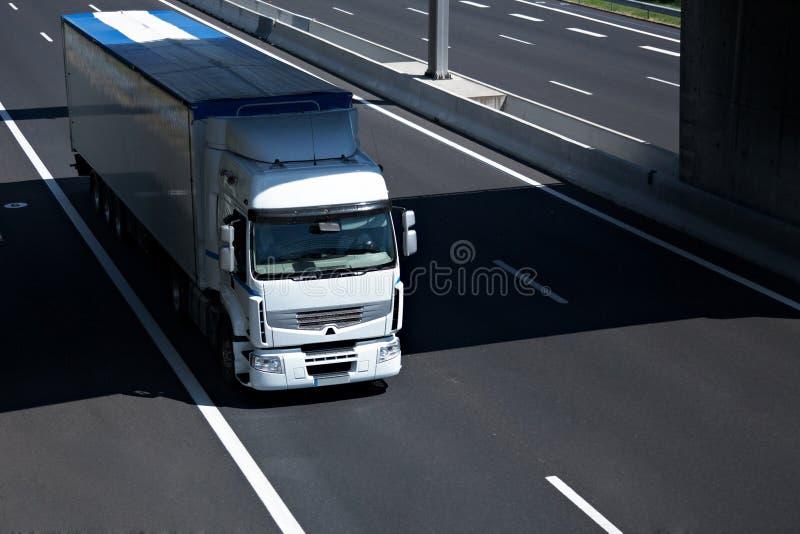 Semi-camion fotografia stock