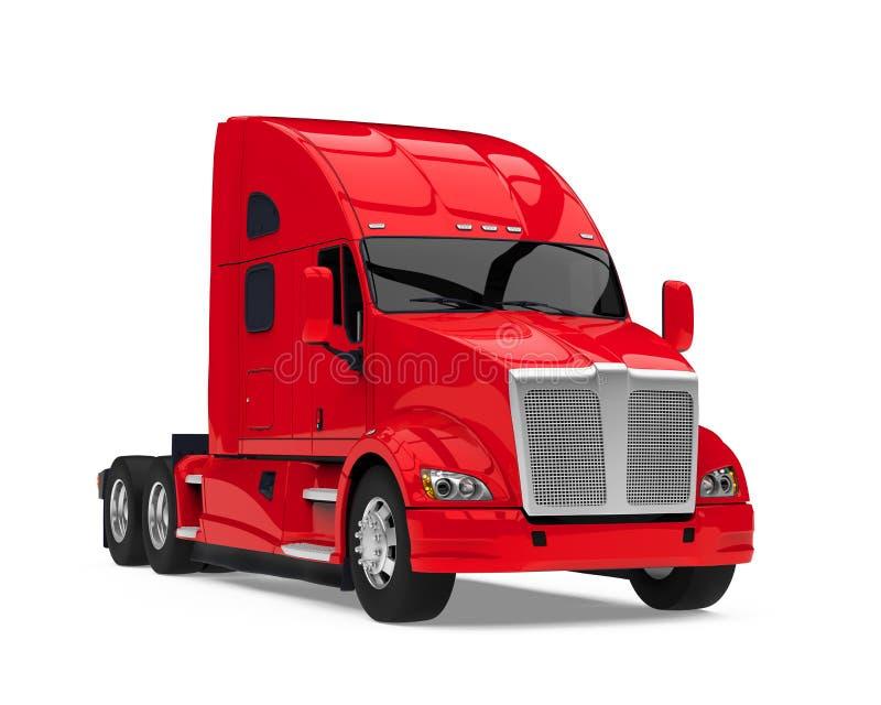 Semi camion d'isolement illustration stock