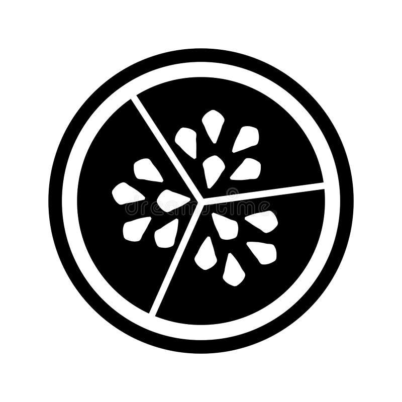 Semi della verdura del cetriolo illustrazione vettoriale