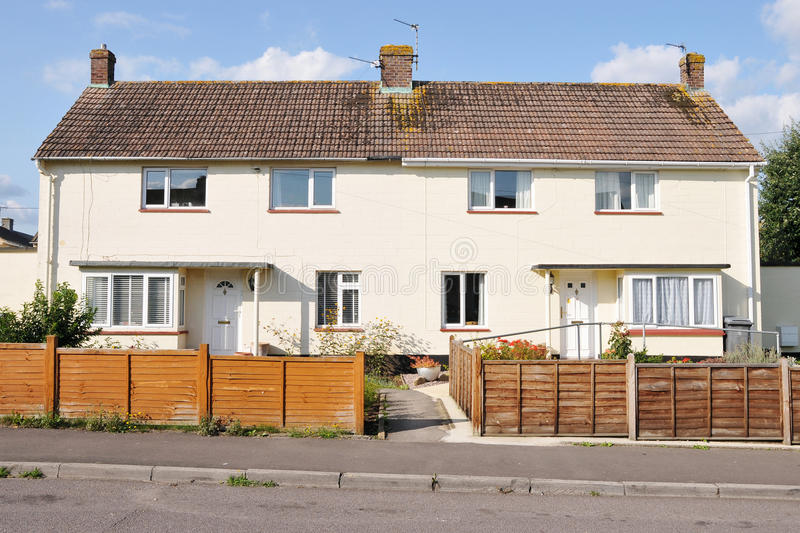 Download Semi-Detached Houses stock image. Image of architecture - 19915057