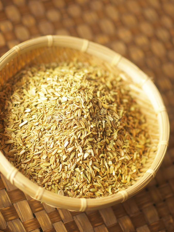 Semi di finocchio fotografia stock immagine di macro for Semi di bambu