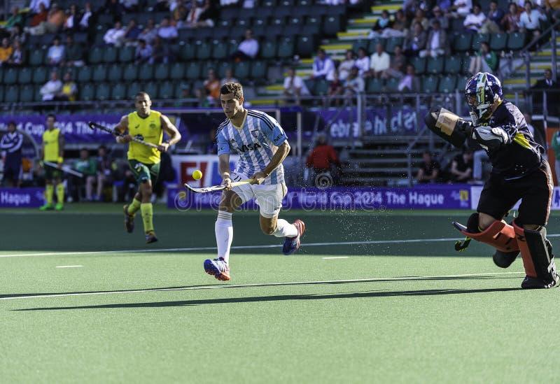 Semi-finals Autralia beats Argentina royalty free stock photography