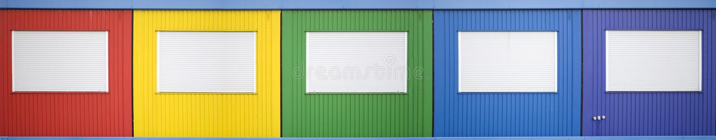 Download Semi permanent building stock photo. Image of amsterdam - 11232670