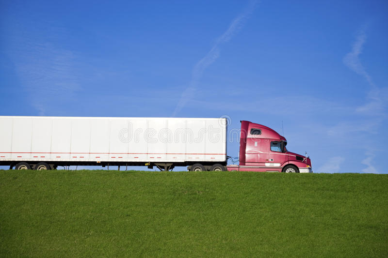 Download Semi Truck stock photo. Image of vehicle, safety, motion - 14114876