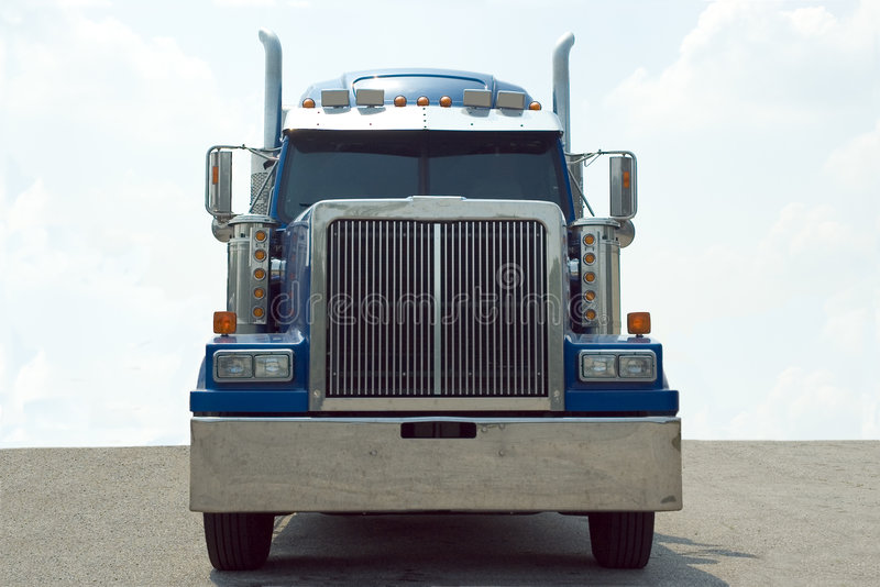 Download Semi Truck stock photo. Image of diesel, macho, intimidating - 819590