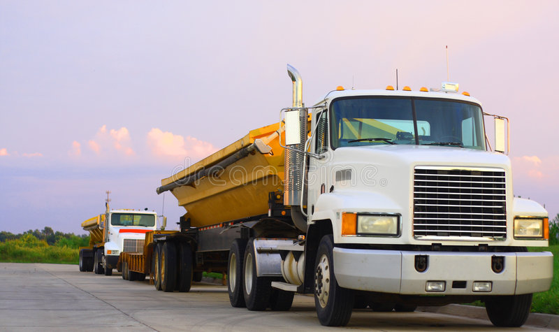 Download Semi trucks stock image. Image of delivery, lorry, heavy - 6384789