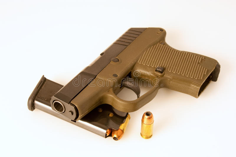 Download Semiautomatic pistol stock photo. Image of background - 16755024