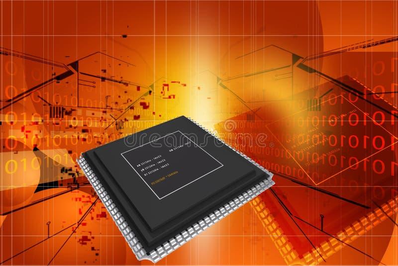 Semiconductor stock de ilustración
