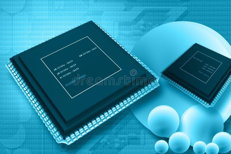 Semiconductor libre illustration