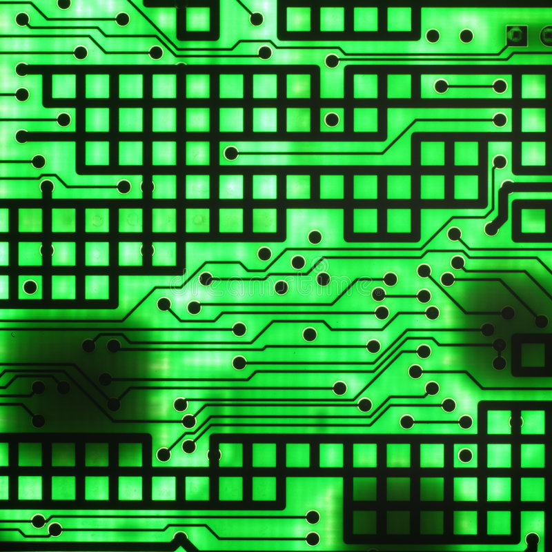 Semicondutor eletrônico fotos de stock royalty free