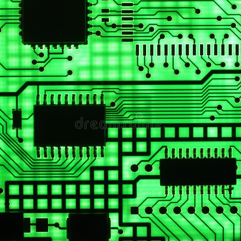 Semiconduttore elettronico fotografia stock