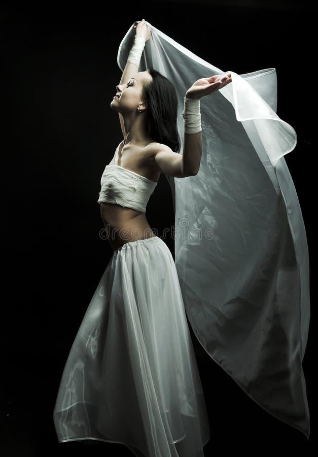 semidarkness χορού στοκ εικόνα