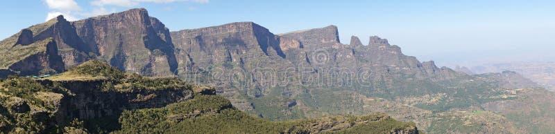 Semien góry park narodowy, Etiopia, Afryka zdjęcia stock