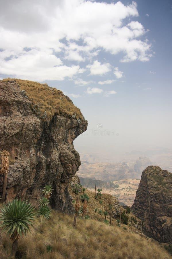 Semien Mountains stock image