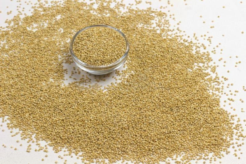 Semillas de quinua fuente de fibras y grasas vegetales Alimentos dietéticos Salud y salud imágenes de archivo libres de regalías