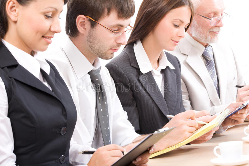Download Seminar stock image. Image of notes, expertise, interview - 16290279