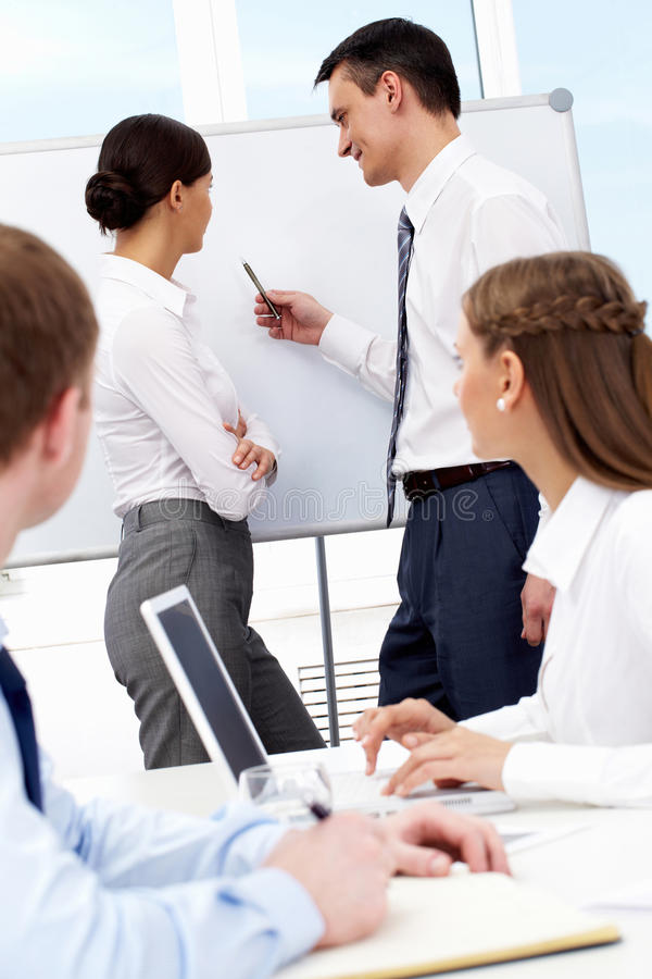 Download At seminar stock image. Image of professional, office - 20682383