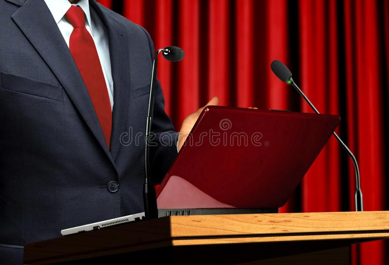 At Seminar Presentation stock photos