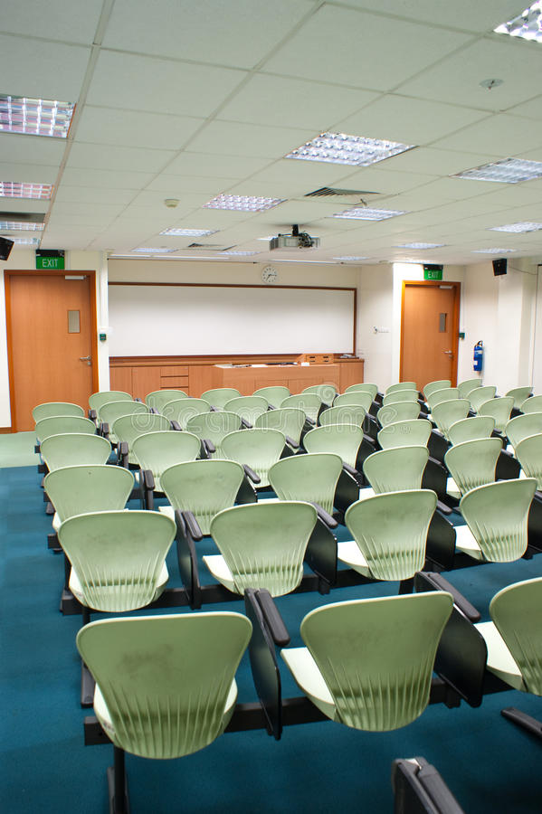 Download Seminar Room stock photo. Image of school, modern, chair - 10413910
