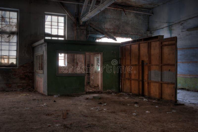 Seminarium av den övergav fabriken arkivfoto