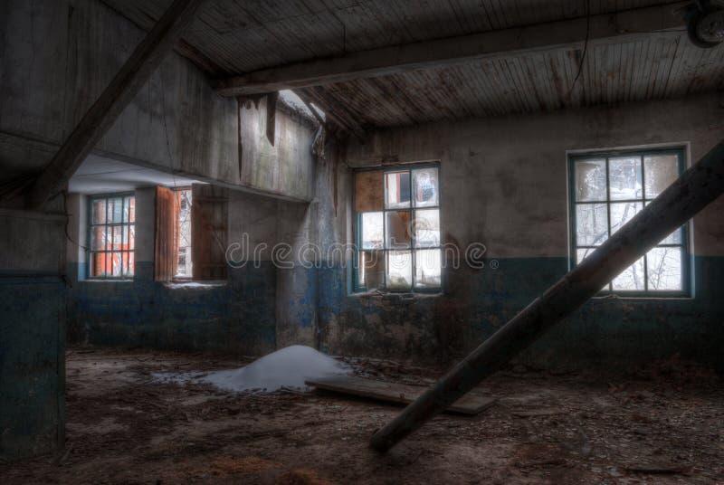 Seminarium av den övergav fabriken arkivbilder