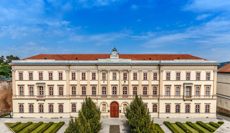 Seminary of Esztergom royalty free stock photo