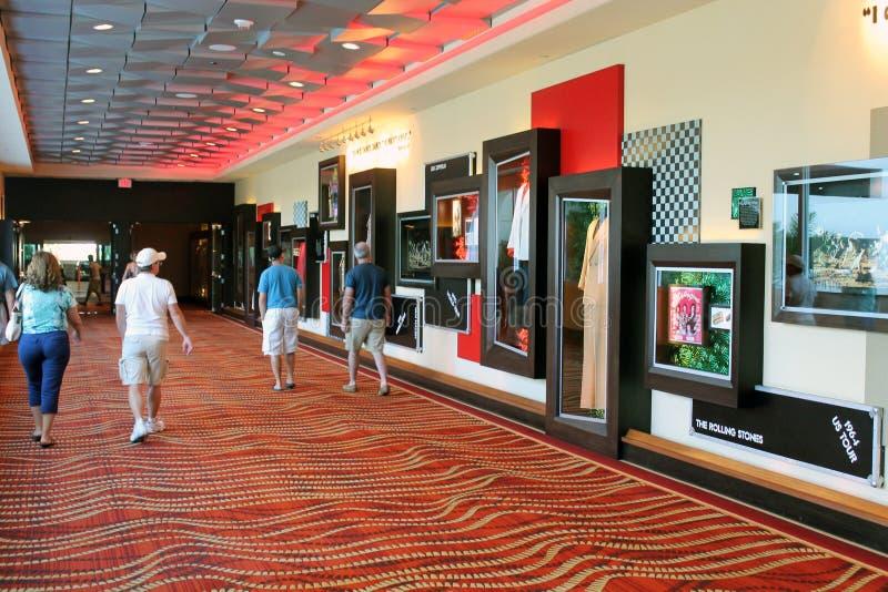 Seminole Голливуд Флорида Hard Rock Cafe стоковая фотография