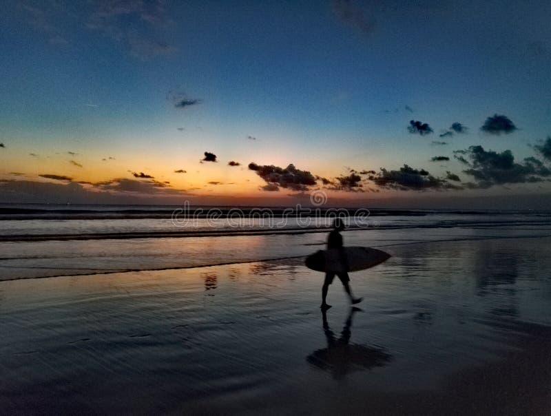 Seminyak巴厘岛 免版税图库摄影