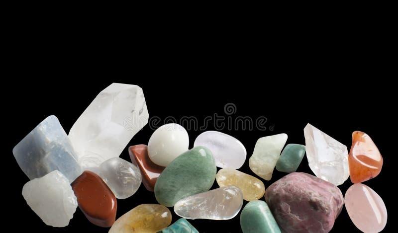 Semiprecious gemstones obraz royalty free