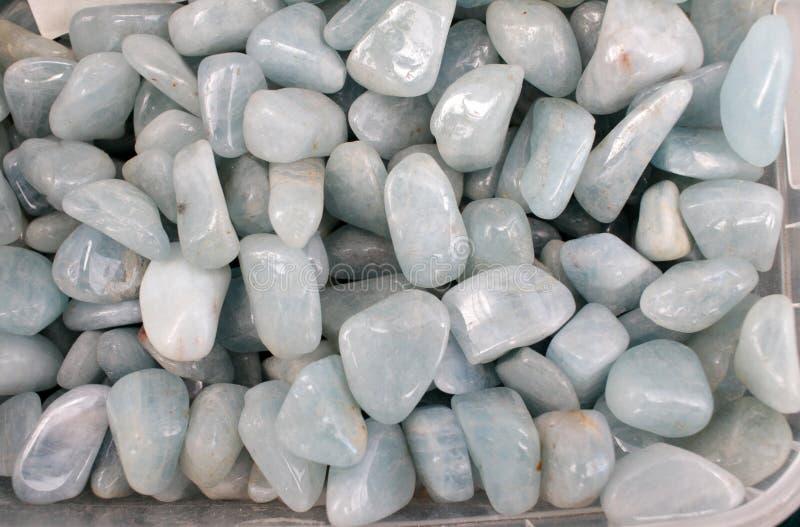 Semiprecious stones. Gem market. stock images